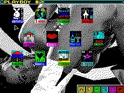 Playboy #02 - Журнал для ZX Spectrum