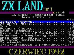 ZX Land #01 - Газета для ZX Spectrum
