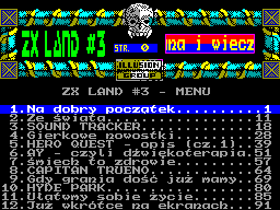 ZX Land #03 - Газета для ZX Spectrum
