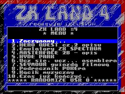 ZX Land #04 - Газета для ZX Spectrum