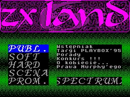 ZX Land #06 - Газета для ZX Spectrum