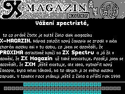 X-Magazine #00 - Журнал для ZX Spectrum