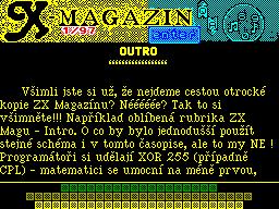 X-Magazine #01 - Журнал для ZX Spectrum