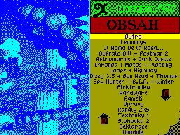 X-Magazine #02 - Журнал для ZX Spectrum