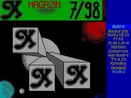 X-Magazine #07 - Журнал для ZX Spectrum