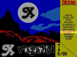 X-Magazine #08 - Журнал для ZX Spectrum