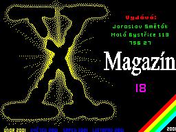 X-Magazine #18 - Журнал для ZX Spectrum