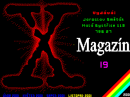 X-Magazine #19 - Журнал для ZX Spectrum