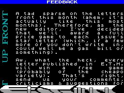 Enigma Tape Magazine #01 - Журнал для ZX Spectrum