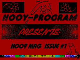 Hooy Mag #01 - Журнал для ZX Spectrum