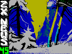 ZX-News #45 - Газета для ZX Spectrum