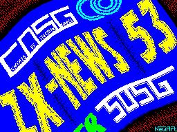 ZX-News #53 - Газета для ZX Spectrum