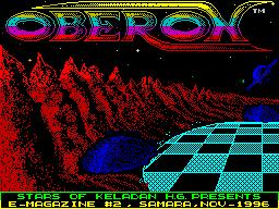 Oberon #02 - Журнал для ZX Spectrum