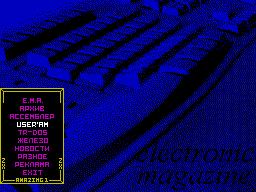<b>Архив</b> - описание программ из приложения к журналу: Inter Mode Player v1.2, Stainless steel, Space crusade, Extreme's Tracker v1.32, Chopper duel.